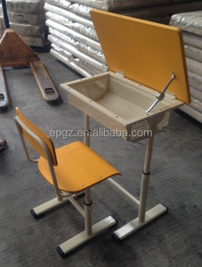 Foldable Exam Desk for Classroom,College Classroom Desk Chair,Open Classroom Student Desk