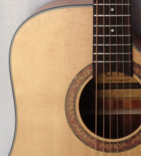 Qag-97sc Qte 41'' Vintage Handmade Acoustic Guitar ...
