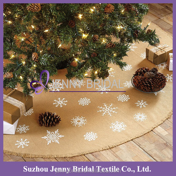 cts027a cheap burlap fabric wholesale christmas decorations canada - Christmas Decorations Canada