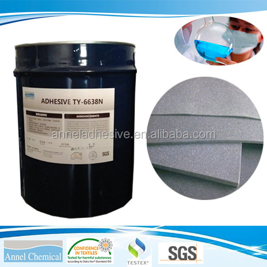 TY-6638N Solvent Based PU Adhesive for foam to foam lamination