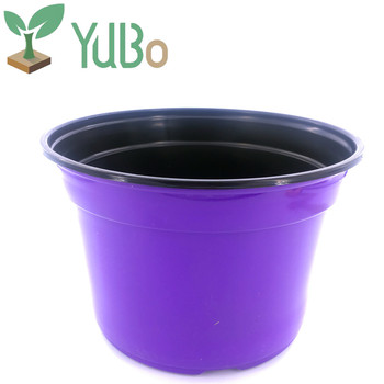 Colorful Size Nursery Flower Pots Whole Plant Rose Pot For Garden Growning