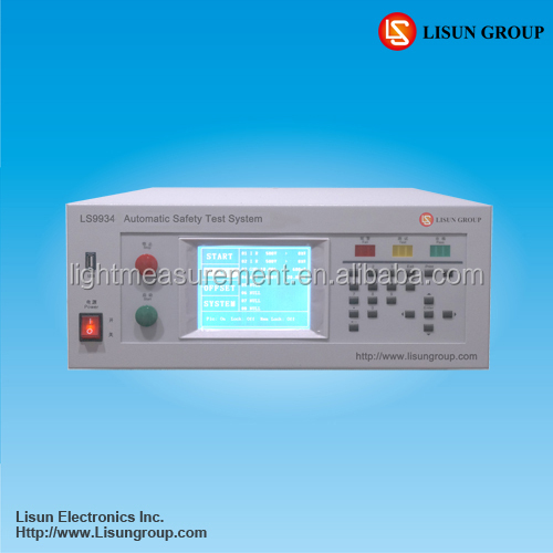 LS9934 Programmable Insulation Withstanding Voltage Electrical Safety Tester for production line or Lab R&D