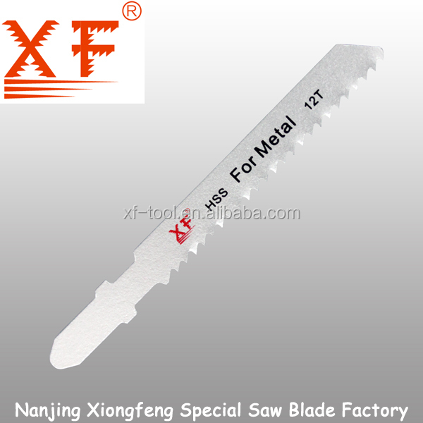 XF-T118B HSS material 76mm T-shank jig fein saw blade for metal cutting