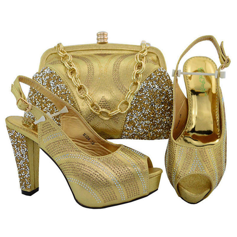 shoes heel and italian women to bag fashion High match African and shoes set bags ETAqwxA6