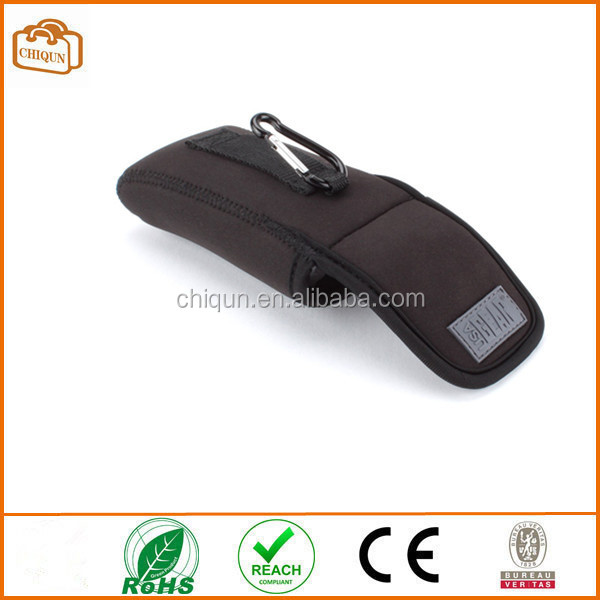 2ab0a7124a3 Neoprene Sunglasses and Eyeglasses Safety Pouch Case with Travel Belt Loop    Carabineer Clip