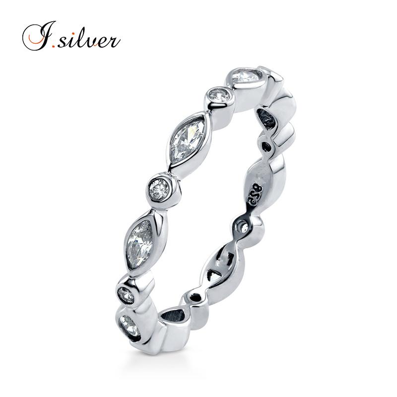 f0d8b49a9448 Anillo de plata esterlina 925 al por mayor personalizada CZ eternidad  anillo de montaje de R500288