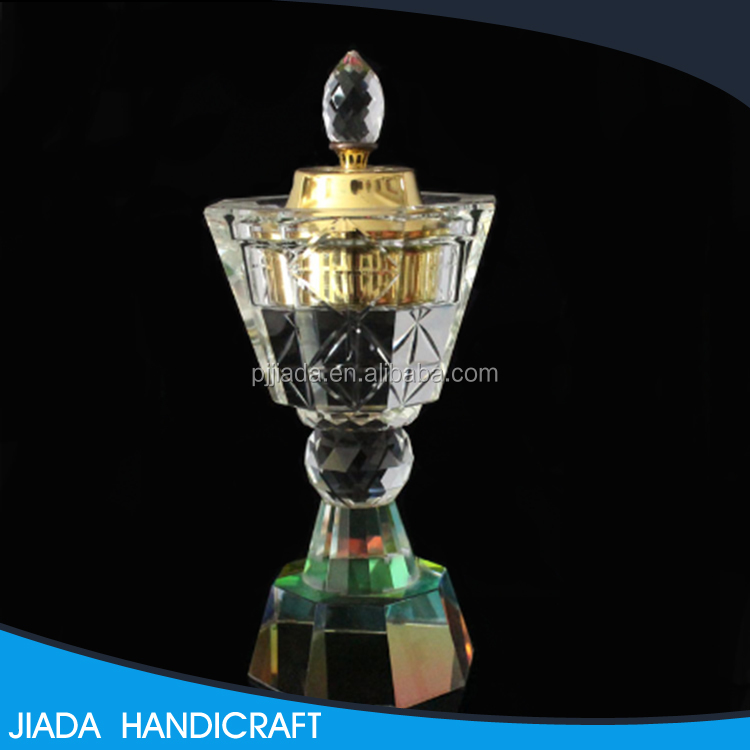 New product best quality Crystal incense burner manufacturer sale