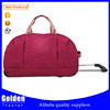 China quality supplier travelling bag with trolley duffel bag 2015 China trolley gym bag from alibaba