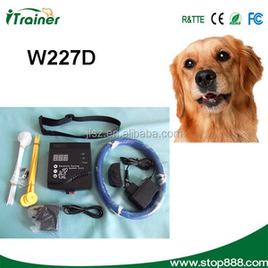 W-227 Electric Fencing Shock Collar System for Pet Dog Cat, wireless fence