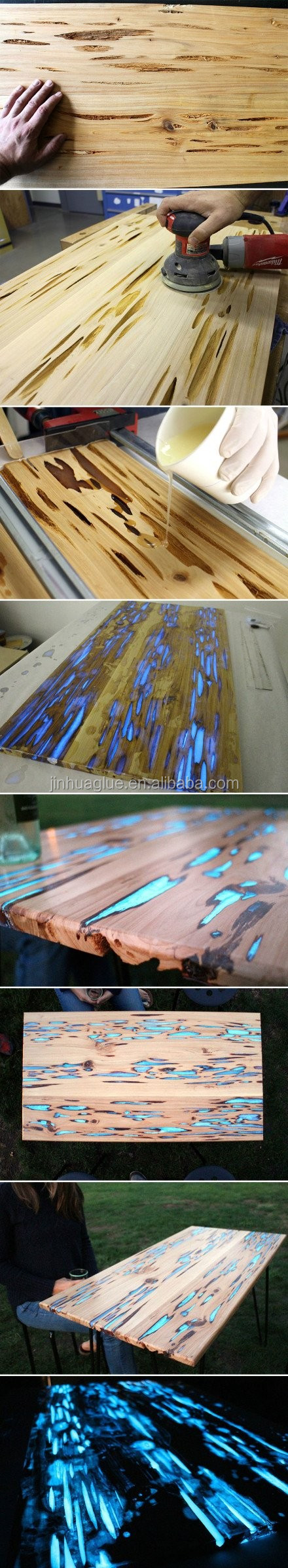 Hot Sale Epoxy Resin Hardener and Clear for Woodtable Topcoat Manufacturer