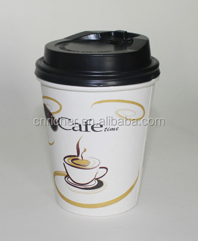custom logo biodegradable take away clear plastic cups 8oz