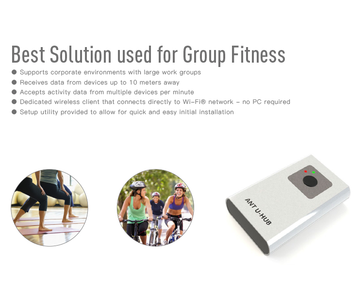 RC900 GYM gruppe fitness ANT + drahtlose Daten hub für fitness clubs