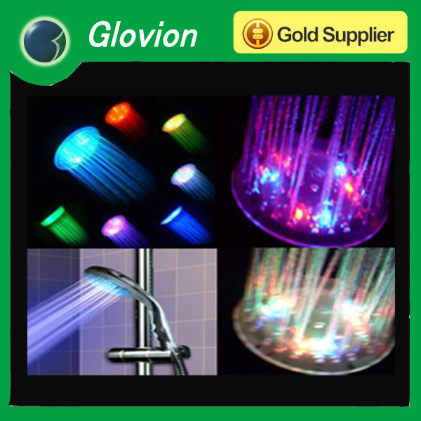 Hot Multi-color Led Light Shower Led Lighted Shower Head Music Led ...