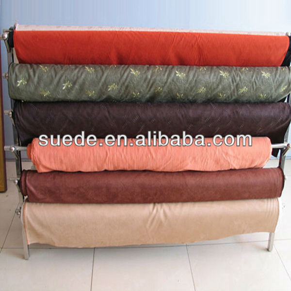 100% polyester textile fabric microfiber kintting suede fabric cheap Sales promotion