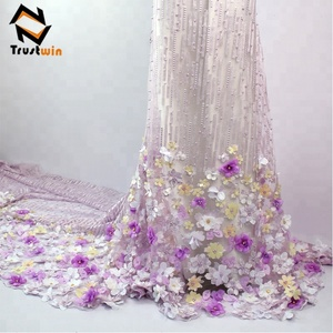 Best selling customized bridal wedding dresses african lace fabrics
