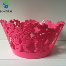 round plastic fruit plate tray