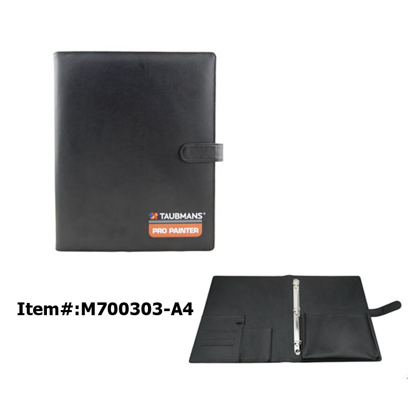 Leather Ring Binder Folder