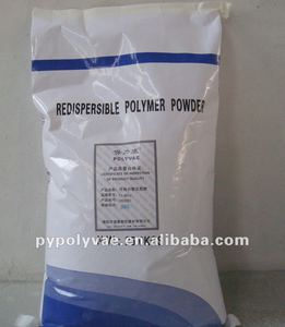 Vinyl acetate/ethylene redispersible polymer powder for tile adhesive and dry mortars