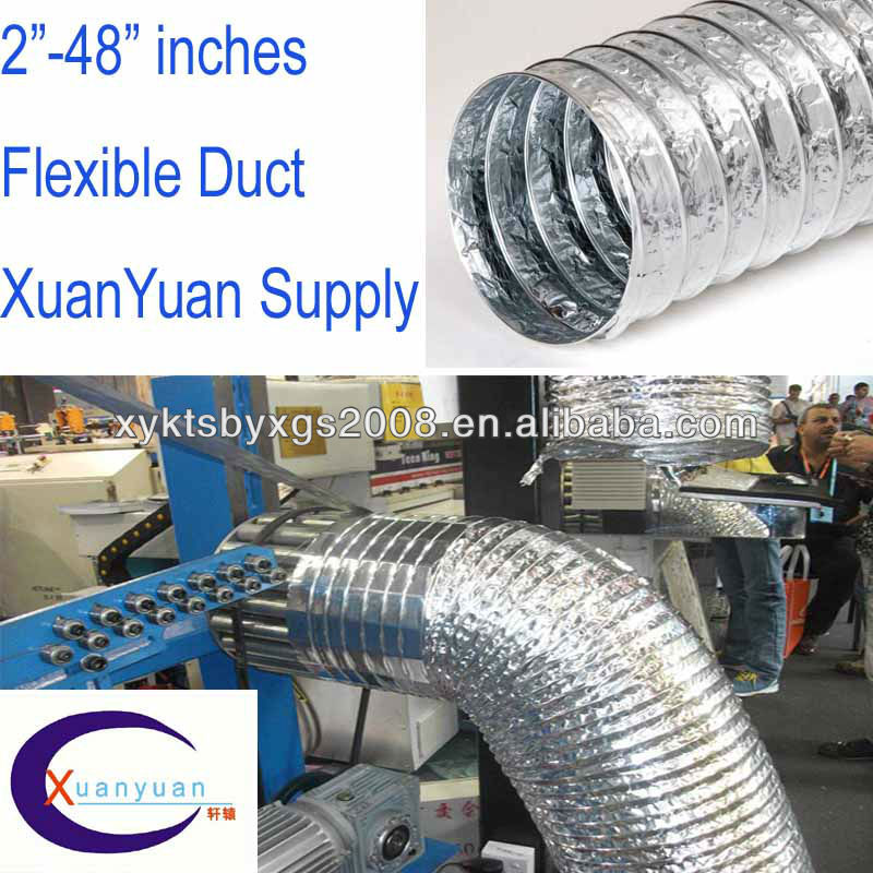 AIR DUCT SUPPLIES(AVAILABLE INVENTORY, 7 YEARS EXPERIENCE IN PRODUCTION AND PROCESSING)
