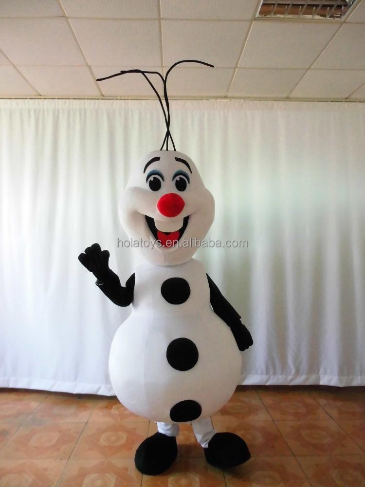 Hola bonhomme de neige olaf costume de mascotte pour - Bonhomme de neige olaf ...