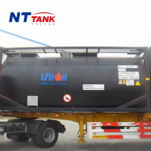Factory direct koop ISO goedgekeurd transport <span class=keywords><strong>bitumen</strong></span> tank container