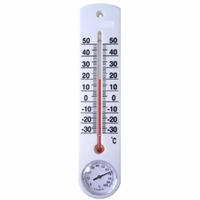 Plastic Outdoor Funny Thermometer Temperature And Humidity Meter
