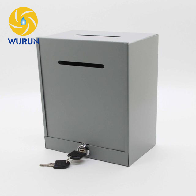 China Wholesale Direct Selling Durable Letterbox In House Custom Metal Mailbox Post