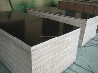 One hot pressing black film faced marine plywood