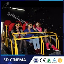 Lechuang Plant Best Seller Amusement Aqua Park 4/6/9/12 Seats 3D 4D 5D 6D Cinema Theater Movie System Suppliers