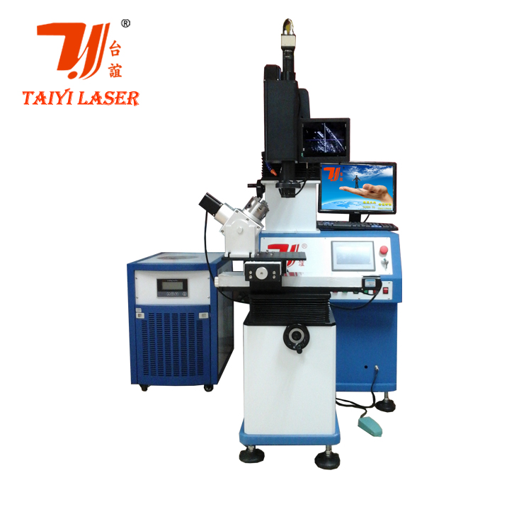Guangzhou high quality automatic yag laser auto parts/battey/kettle nozzle spot welding machine for sale looking for agent