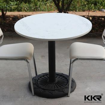 Quartz Stone Outdoor Round Stone Table Tops Buy Outdoor Round - Outdoor table tops restaurant