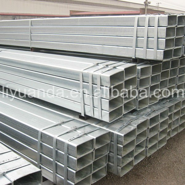 Zinc Plated Square Tube