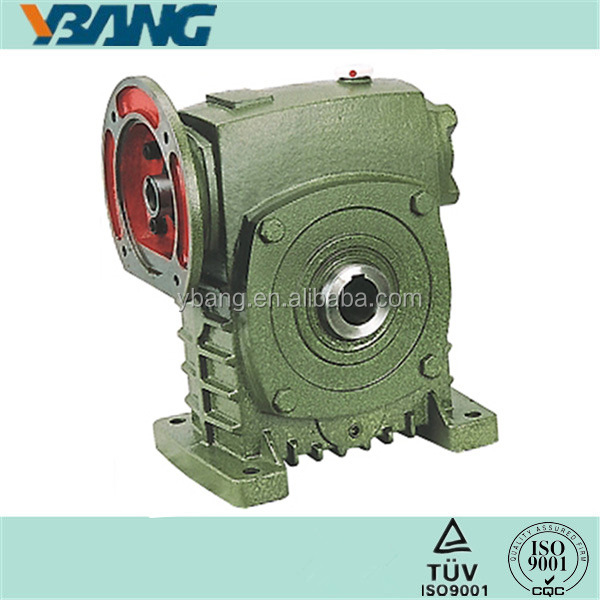 Hollow Shaft Gearbox with Input Flange