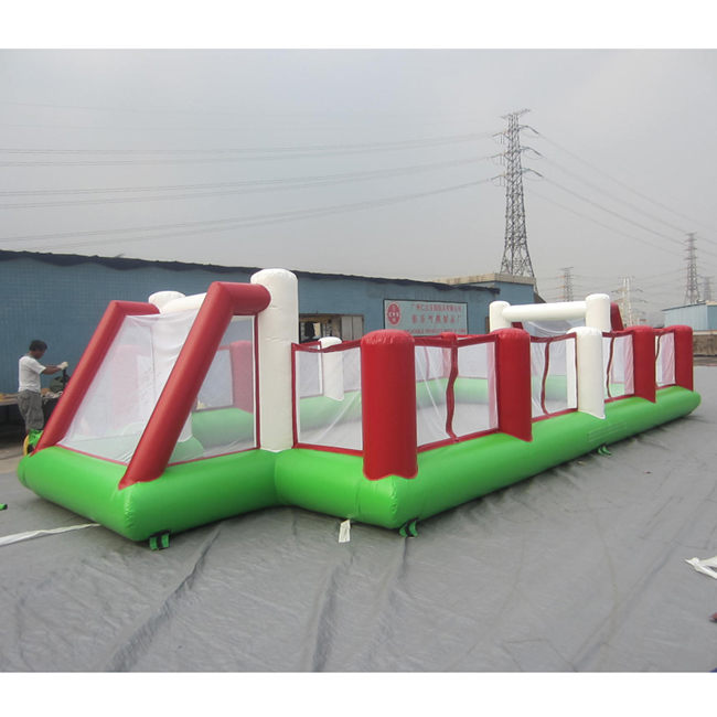 2019 cheap factory price inflatable football field pitch for sale