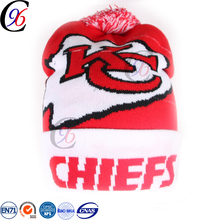 Chengxing crochet woven classic sport winter fabric knitted children spandex knitting pattern acrylic beanie baby hat