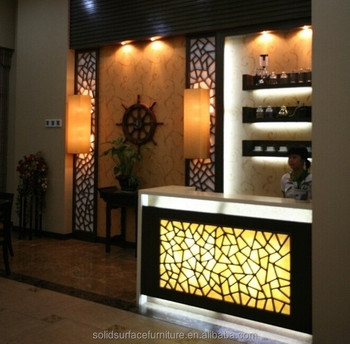 Commercial Led Lighted Mini Bar Furniture Modern Wine Counter