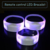 LED Bracelet Custom Logo DMX Controlled For K pop Concert Stage Cheering Items Radio Control 15color Flashing LED Wristband