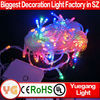 CE ROHS approved 10m 100leds 9 color changing outdoor christmas led string lights mini christmas light bulbs invisible led