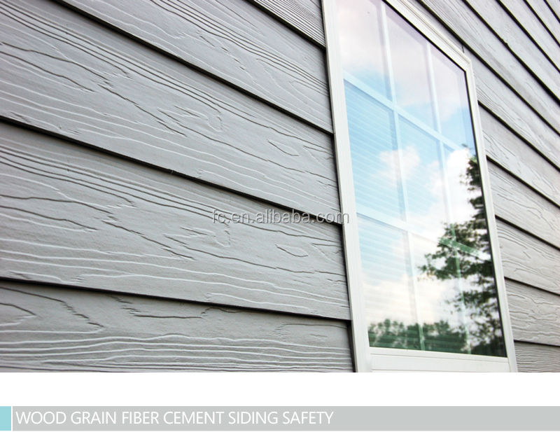 Vezelcement shingle panelen houtnerf vezelcement for Wood grain siding panels