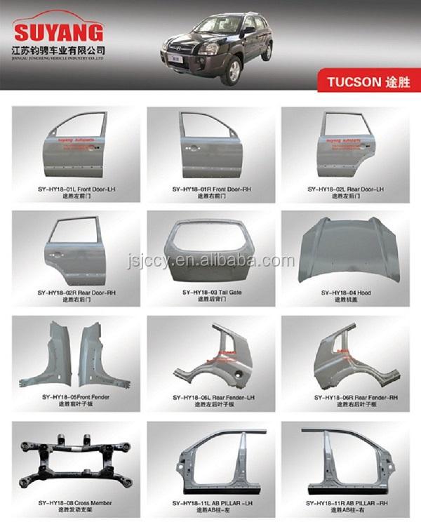 Suyang Mitsubishi L300 Southeast Delica Van Accessories Car Body