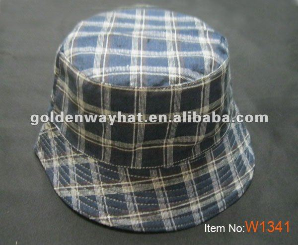 Men fishing hat wholesale bucket hats fashion striped dobby fisherman hat