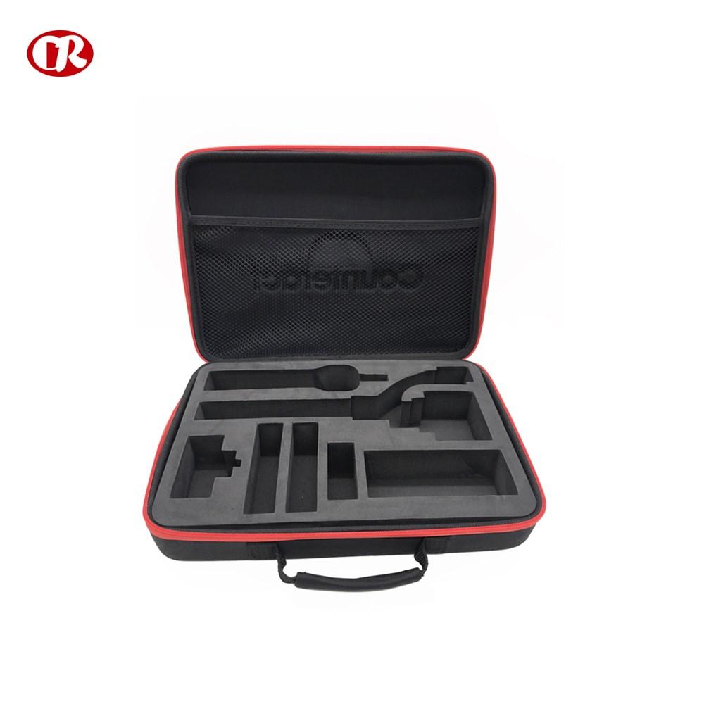 Custom design plastic handle durable professional carrying eva case