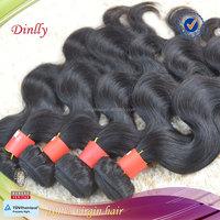 Gold supplier 6A grade dominican hair
