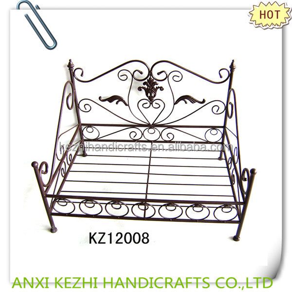 KZ12008 antique metal pet beds