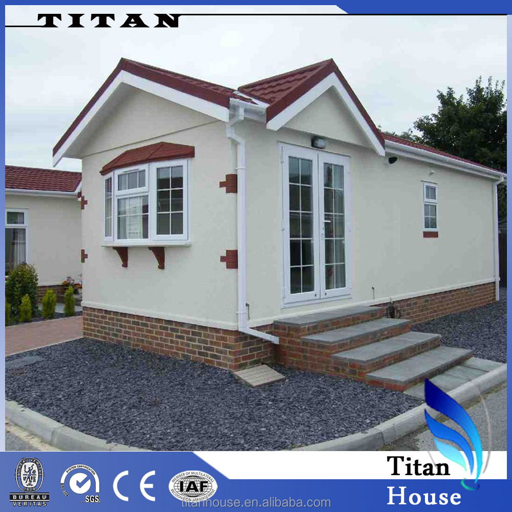 Low Cost Small Prefab Mobile Houses With 1 Bedroom