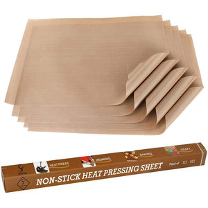PTFE Teflon Sheet for Heat Press Transfer Sheet Non Stick Heat Resistant Craft Mat