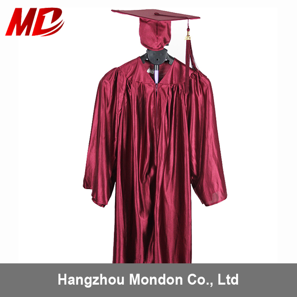 Maroon Color Children Graduation Gown Only General Style - Buy ...