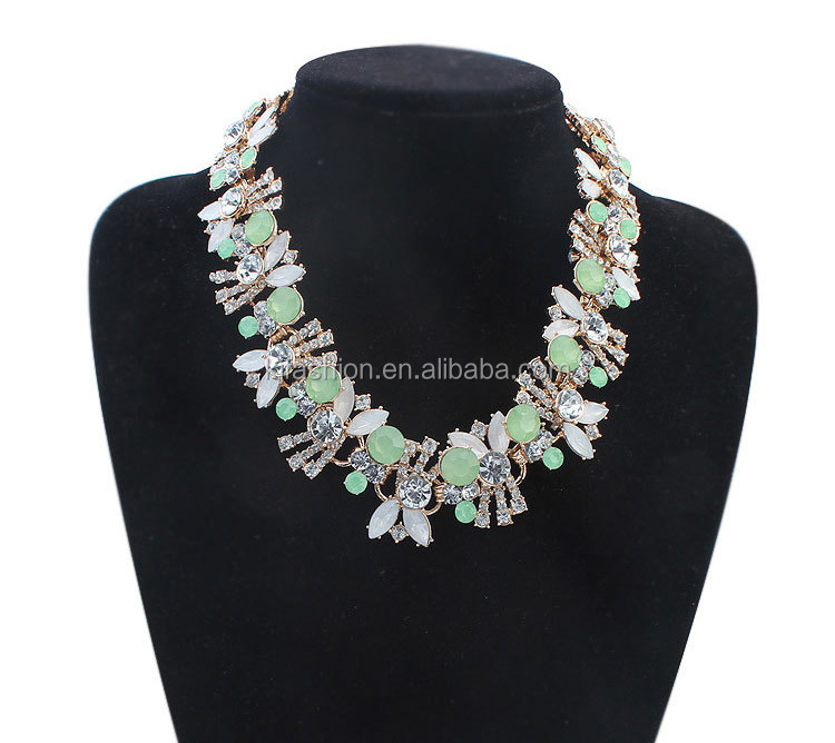 핫 세일 crystal necklace jewelry, crystal 목걸이