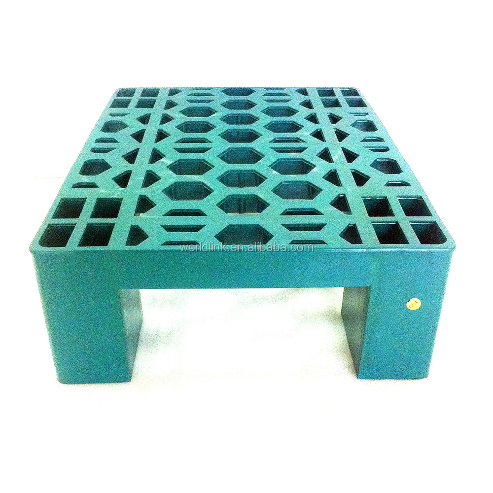 New Design HDPE Moving Transport Small Plastic Pallet for Supermarket