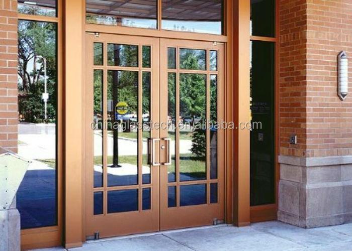 Building Soundproof Swing One Way Glass Door Buy One Way Glass